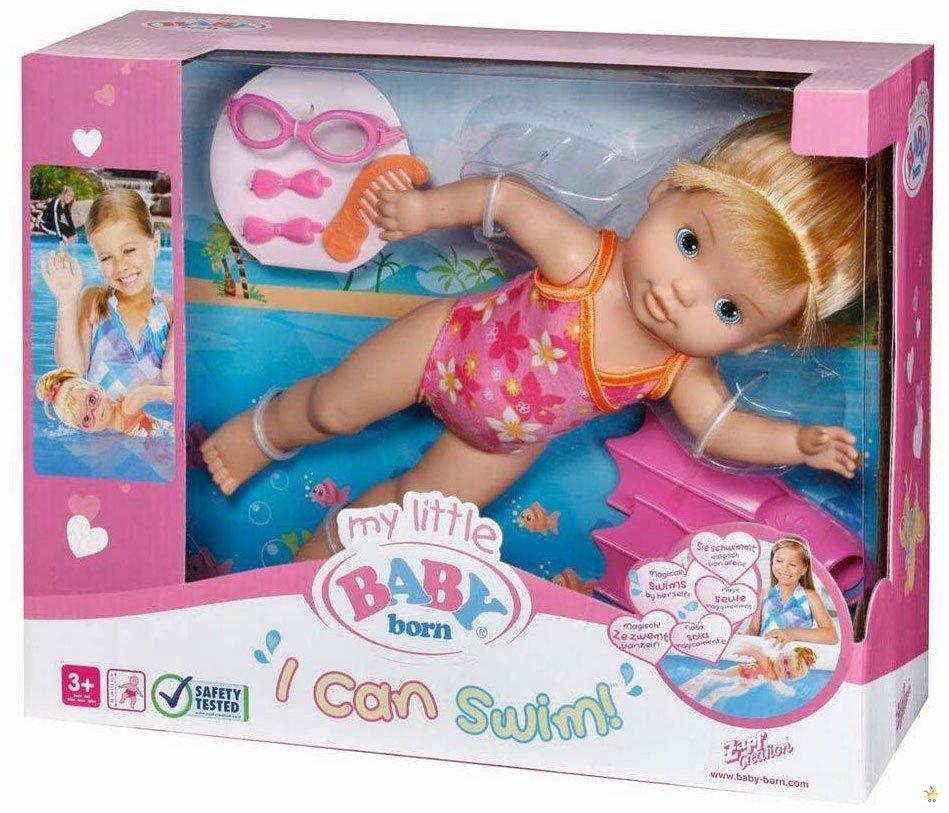 عروسک شناگر 32 سانتی بی بی بورن |