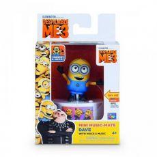 عروسک 9 سانتی با پایه موزیکال دیو (MINION), image 1