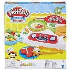 ست خمیربازی مدل اجاق گاز Play Doh, image 1