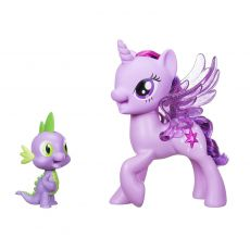 عروسک موزیکال پونی TWILIGHT SPARKLE و دراگون اسپایک (My little pony Movie 2017), image 2
