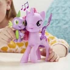 عروسک موزیکال پونی TWILIGHT SPARKLE و دراگون اسپایک (My little pony Movie 2017), image 3