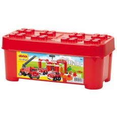 بازی ساختنی ایستگاه آتش نشانی آبریک (Ecoiffier), image 1