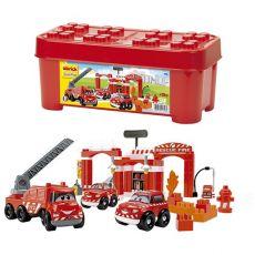 بازی ساختنی ایستگاه آتش نشانی آبریک (Ecoiffier), image 2