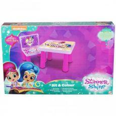 ست میز و صندلی رنگ آمیزی شیمر و شاین, image 1