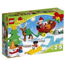 لگو مدل بابانوئل و تعطیلات زمستانی سری دوپلو (10837), image 1
