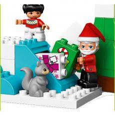 لگو مدل بابانوئل و تعطیلات زمستانی سری دوپلو (10837), image 4