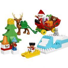 لگو مدل بابانوئل و تعطیلات زمستانی سری دوپلو (10837), image 5