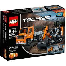 لگو 2x1 مدل کامیون و بیل مکانیکی سری تکنیک (42060), image 1