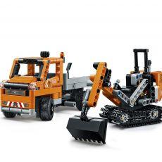 لگو 2x1 مدل کامیون و بیل مکانیکی سری تکنیک (42060), image 4