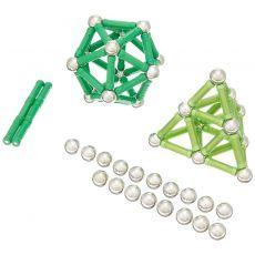 بازی مغناطیسی 100 قطعهای جیومگ مدل PRO Color, image 2