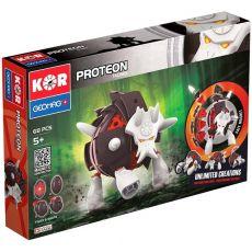 بازی مغناطیسی 68 قطعهای جیومگ مدل KOR Proteon  Taurex, image 1