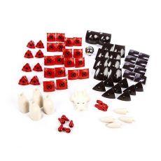 بازی مغناطیسی 68 قطعهای جیومگ مدل KOR Proteon  Taurex, image 6