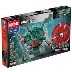 بازی مغناطیسی 103 قطعهای جیومگ مدل KOR Proteon Swomp, image 1