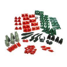 بازی مغناطیسی 103 قطعهای جیومگ مدل KOR Proteon Swomp, image 7