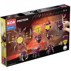 بازی مغناطیسی 103 قطعهای جیومگ مدل KOR Proteon Vulkram, image 5