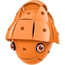بازی مغناطیسی 55 قطعهای جیومگ مدل KOR Orange, image 6