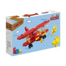 بلاک ساختنی بن بائو مدل هواپیمای قرمز اسنوپی, image 1
