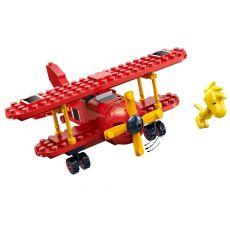 بلاک ساختنی بن بائو مدل هواپیمای قرمز اسنوپی, image 2