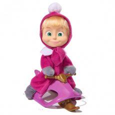 ست عروسک ماشا به همراه سورتمه, image 3