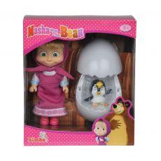 ست عروسک ماشا و تخم پنگوئن, image 1