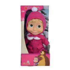 عروسک 23 سانتی ماشا با لباس زمستونی, image 1