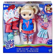 عروسک Baby Alive  مدل SO MANY STYLES, image 1