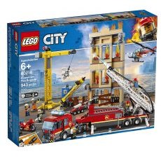 لگو مدل تشکیلات آتش نشانی شهر سری سیتی (60216), image 1