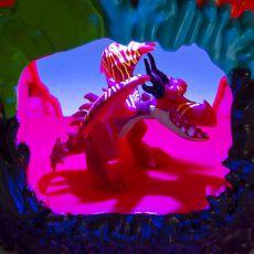 ست بازی Dragon Liar با فیگور اژدها, image 3