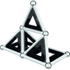 بازی مغناطیسی 68 قطعهای جیومگ مدل Black and White, image 9