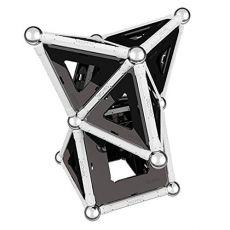بازی مغناطیسی 68 قطعهای جیومگ مدل Black and White, image 4