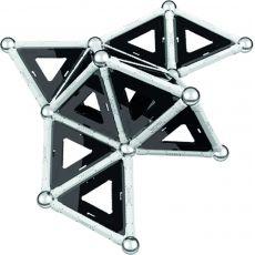 بازی مغناطیسی 68 قطعهای جیومگ مدل Black and White, image 16