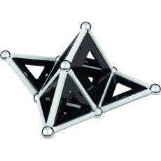 بازی مغناطیسی 68 قطعهای جیومگ مدل Black and White, image 10