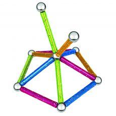 بازی مغناطیسی 30 قطعهای جیومگ مدل Glitter, image 10
