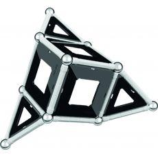 بازی مغناطیسی 68 قطعهای جیومگ مدل Black and White, image 11