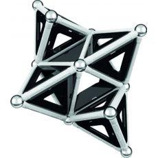 بازی مغناطیسی 68 قطعهای جیومگ مدل Black and White, image 18