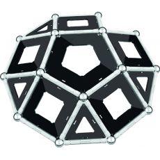 بازی مغناطیسی 68 قطعهای جیومگ مدل Black and White, image 14