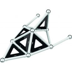 بازی مغناطیسی 68 قطعهای جیومگ مدل Black and White, image 8
