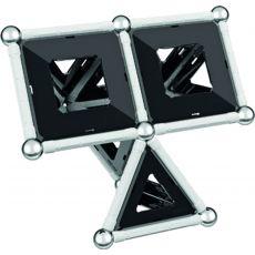 بازی مغناطیسی 68 قطعهای جیومگ مدل Black and White, image 15