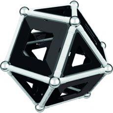 بازی مغناطیسی 68 قطعهای جیومگ مدل Black and White, image 19