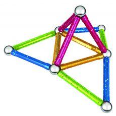 بازی مغناطیسی 30 قطعهای جیومگ مدل Glitter, image 11
