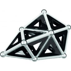 بازی مغناطیسی 68 قطعهای جیومگ مدل Black and White, image 17