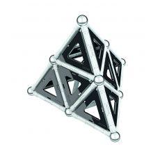 بازی مغناطیسی 68 قطعهای جیومگ مدل Black and White, image 6