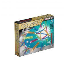 بازی مغناطیسی 30 قطعهای جیومگ مدل Glitter, image 1
