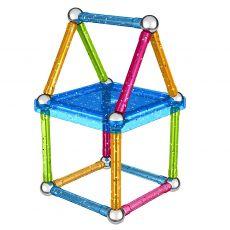 بازی مغناطیسی 30 قطعهای جیومگ مدل Glitter, image 4