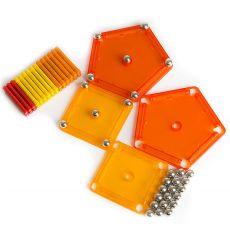 بازی مغناطیسی 64 قطعهای جیومگ مدل Color, image 4