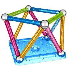 بازی مغناطیسی 30 قطعهای جیومگ مدل Glitter, image 5