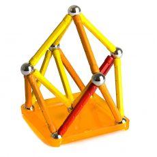 بازی مغناطیسی 64 قطعهای جیومگ مدل Color, image 2