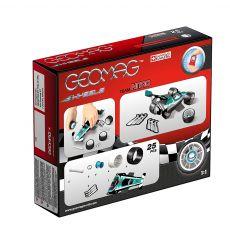 بازی مغناطیسی 25 قطعهای جیومگ مدل Team Nitro Wheels, image 2