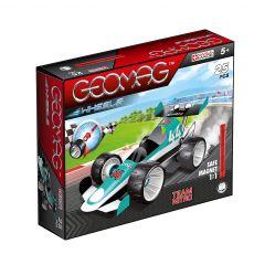 بازی مغناطیسی 25 قطعهای جیومگ مدل Team Nitro Wheels, image 1