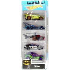 پک 5 تایی ماشینهای Hot Wheela مدل Batman, image 1